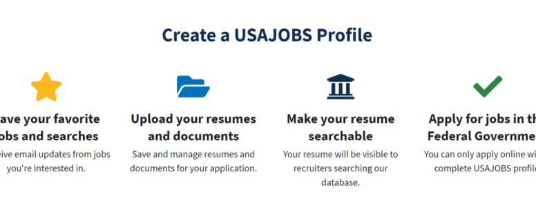 Usajobs Account How To Create And Delete Account Login