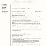 veteran federal resume example