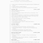 Federal resume template fbi 2