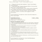 federal veteran resume example 3