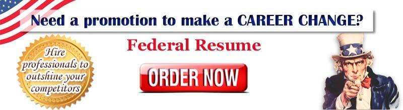 Order federal resume now