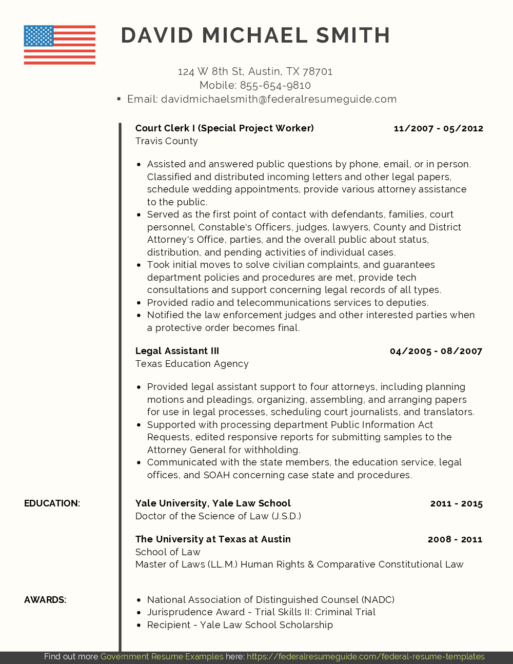 Attorney Resume Samples Pdf Word Resume For Attorney